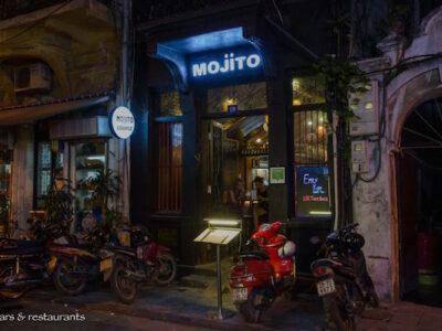 A New Bar Discovery in Hanoi Old Quarter: Mojito Bar & Lounge