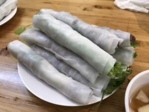 A Popular Pho Cuon (Fresh Pho Spring Roll) Restaurant in a Peaceful Neighbourhood near Old Quarter Hanoi