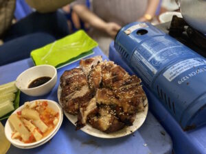 The Best Grilled Duck and Duck Hotpot Restaurant in Hanoi