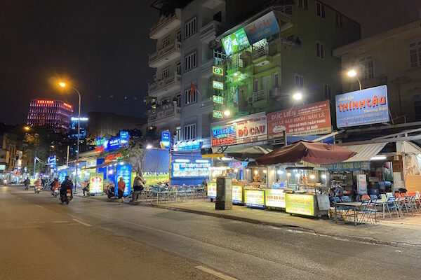 Seafood Street in Hanoi for Inland Seafood Feast